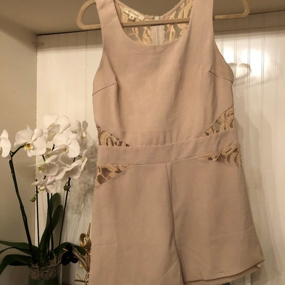 Alythea Other - Tan Romper